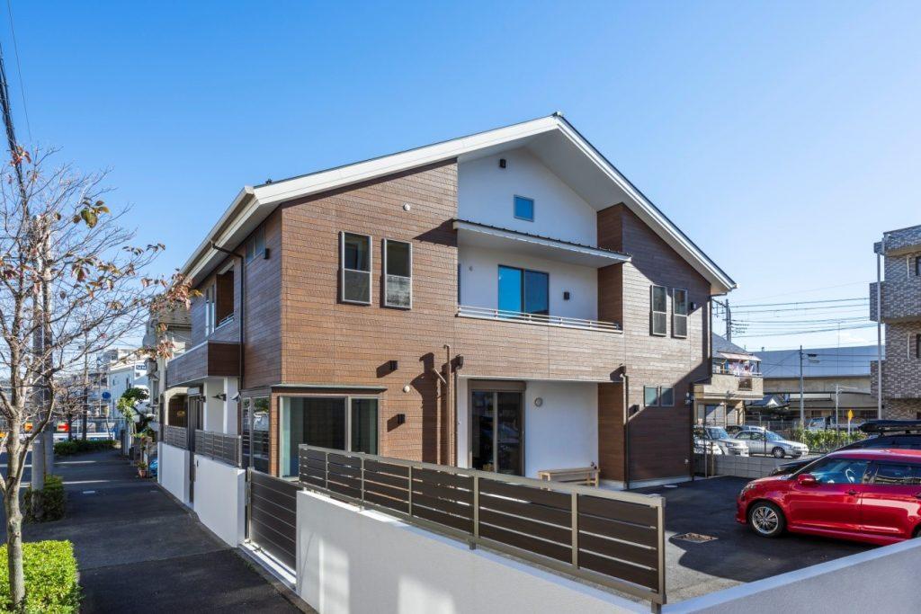 施工事例(小金井市) 木の温もりが家族を包む 壮麗な和モダン邸宅