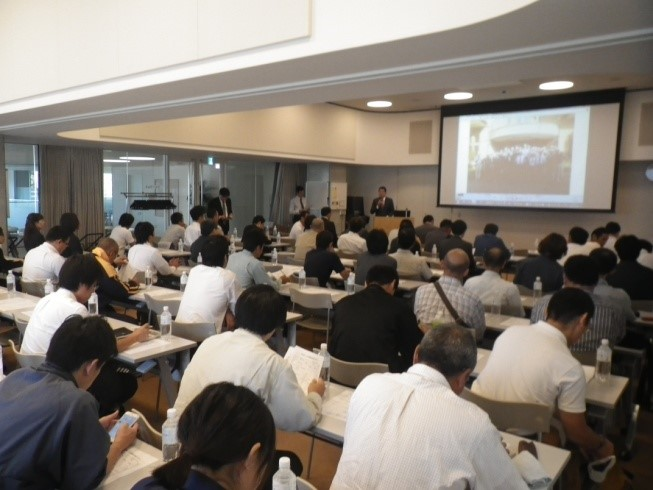 「お客様の満足度向上のために」関連業者60社での安全パトロール総会