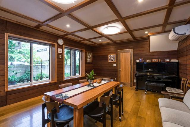 全面リフォーム施工事例(三鷹)|贅沢に使った無垢材に包まれる家