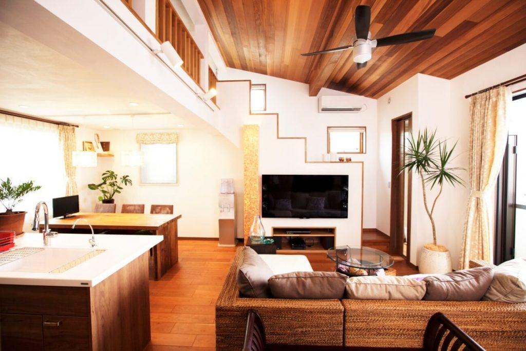賃貸併用住宅施工事例(三鷹)|アジアンリゾートの風感じるテラスのある暮らし