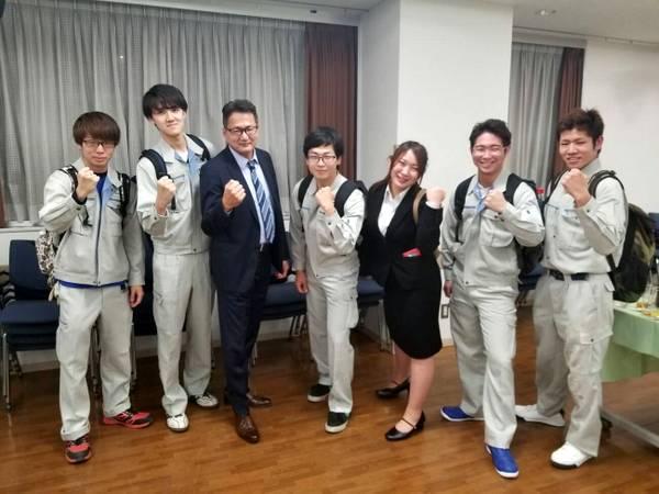 8名の第2期生が入塾! 東京大工塾の入塾式が行われました