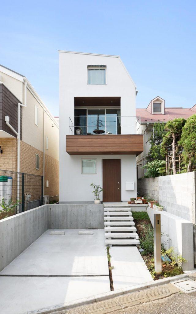 施工事例(東京都)|建築家夫婦の家