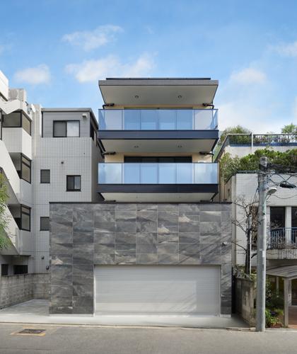 RC施工事例|ラグジュアリー感満載 高級ホテルの佇まいのRC住宅