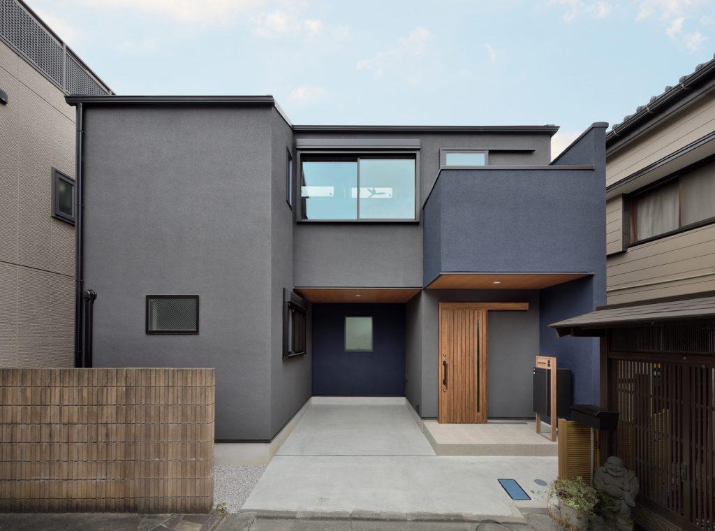 色でデザイン 木のやすらぎ住宅