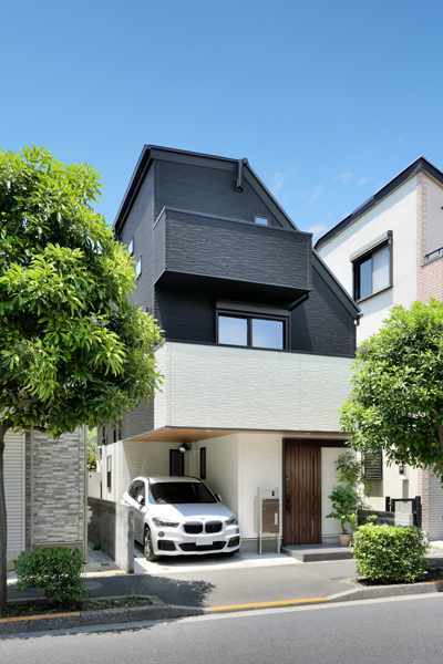 施工事例|地下RC造+SE構法の家