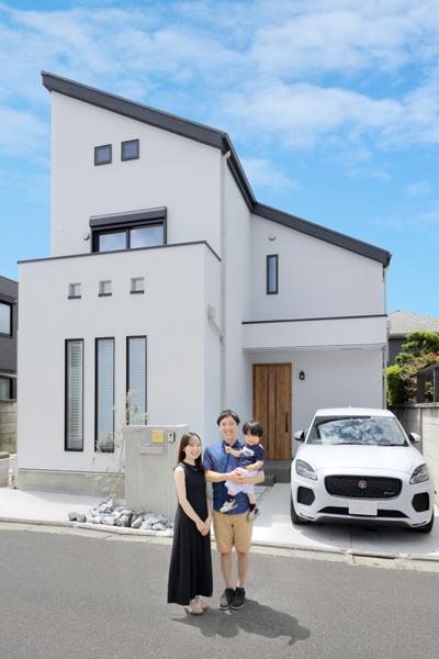 施工事例|ライフスタイルに合った動線で住み心地の良い家に
